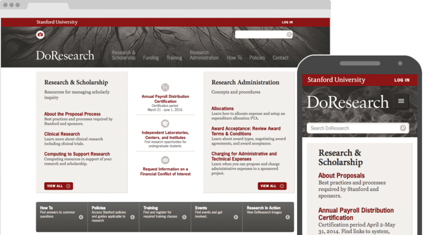Case Study: Stanford University Dean of Research, hero image