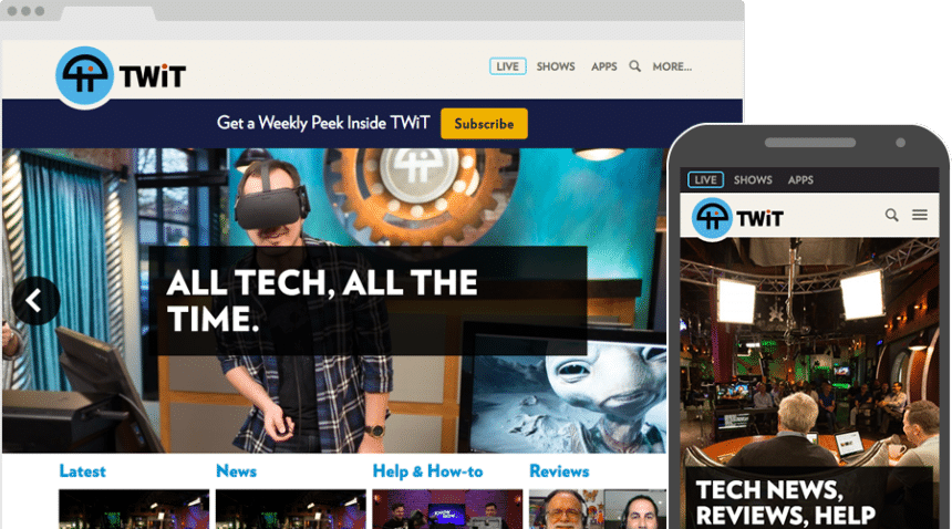 Case Study: TWiT.tv, hero image
