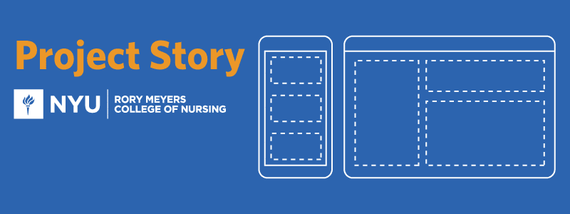 Project story for NYU Nursing
