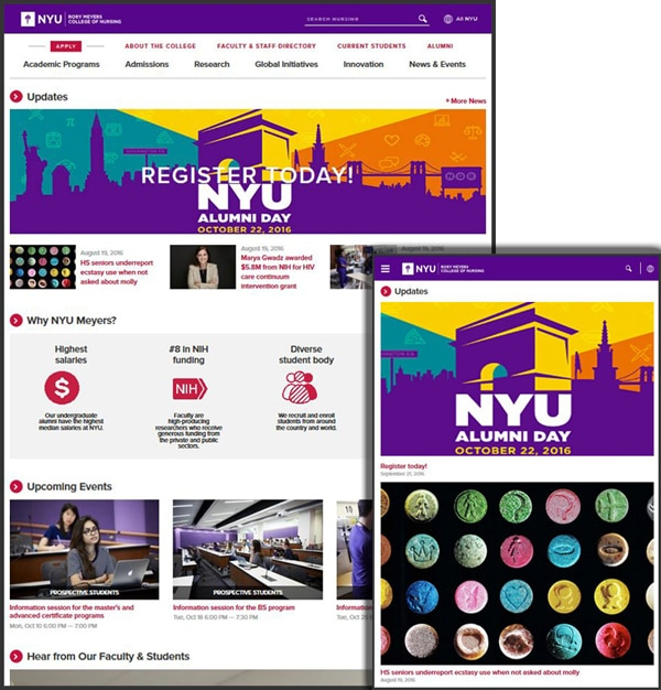 Team Work on the New NYU Nursing – Four Kitchens