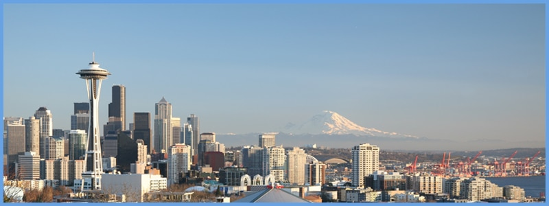 Seattle skyline, photo credit: Wikimedia Commons