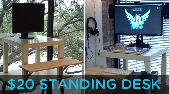 An Even Better Standing Desk For 20 Four Kitchens