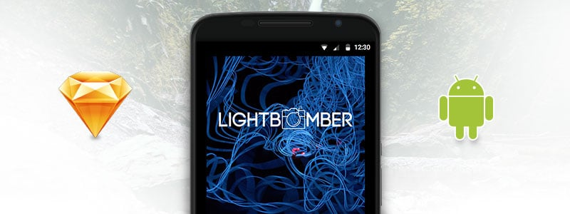 Designing Lightbomber for Android using Sketch 3