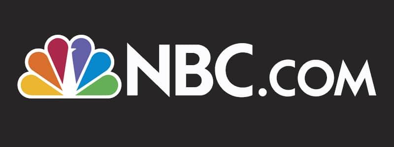 NBC peacock logo for NBC.com