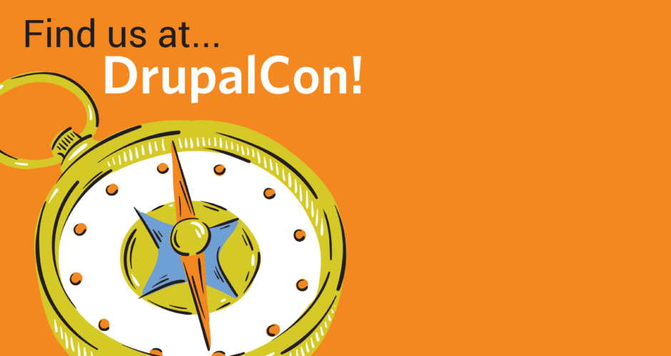 Find us at DrupalCon!