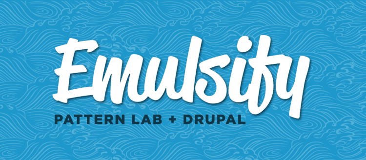The Emulsify project is the merging of Pattern Lab and Drupal