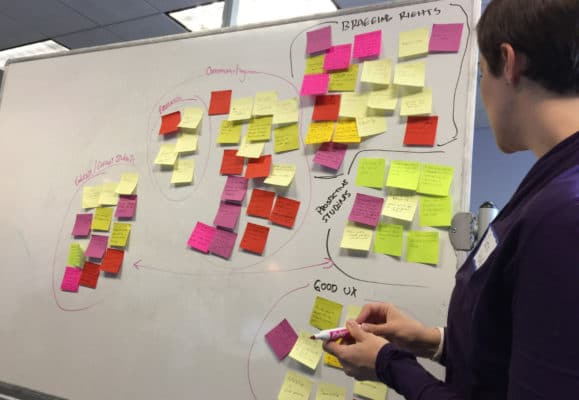 UX Director Caris Hurd leads the discovery process.
