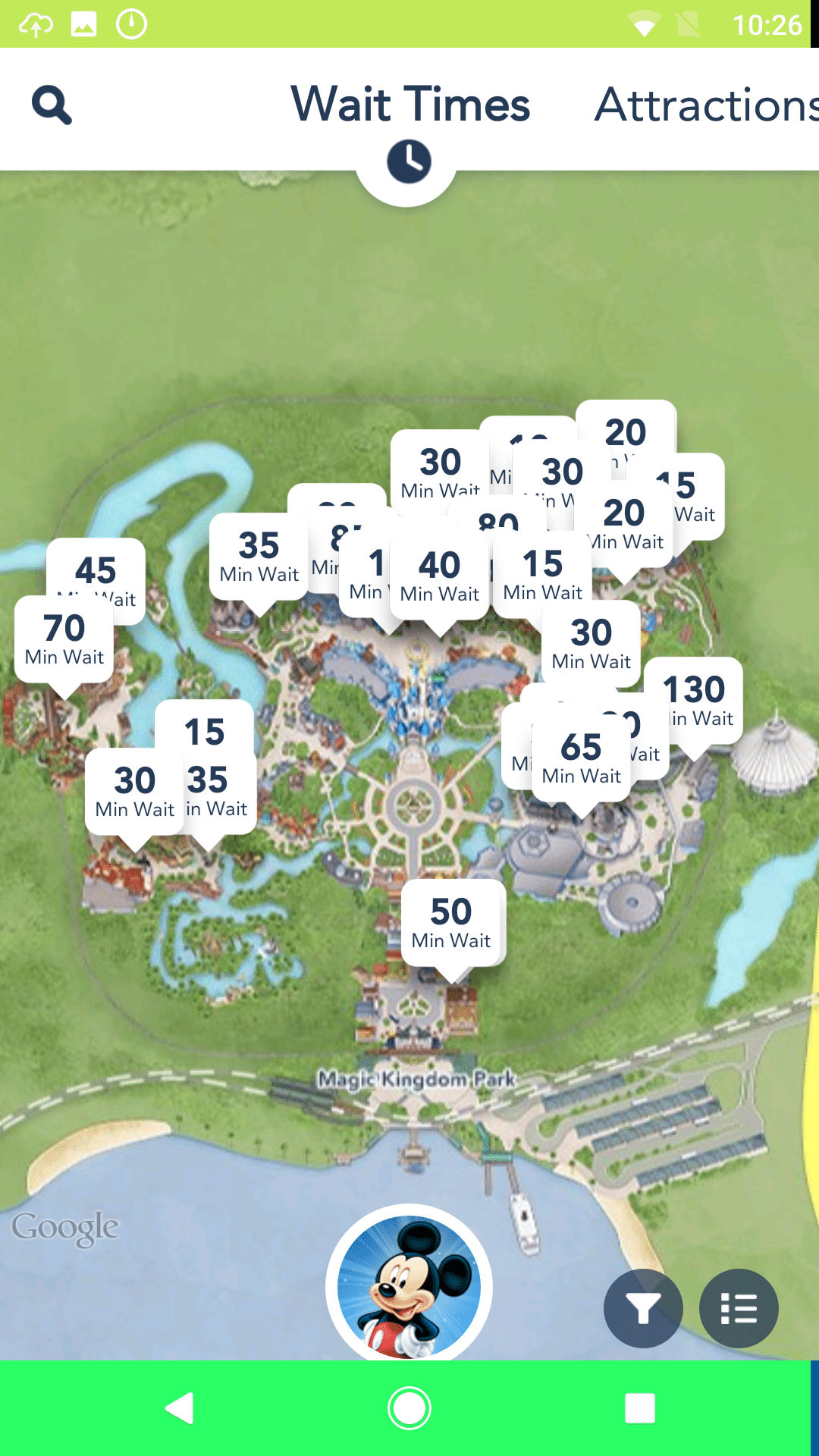 Ux of disney part 1 pre arrival arrival four kitchens using the app you can view the wait times for rides and attractions based on your current location if youre in magic kingdom you can easily view the wait gumiabroncs Images
