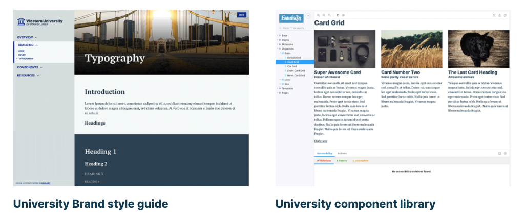 Emulsify - Western University style guide and component library